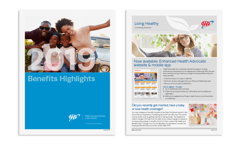 2 brochures