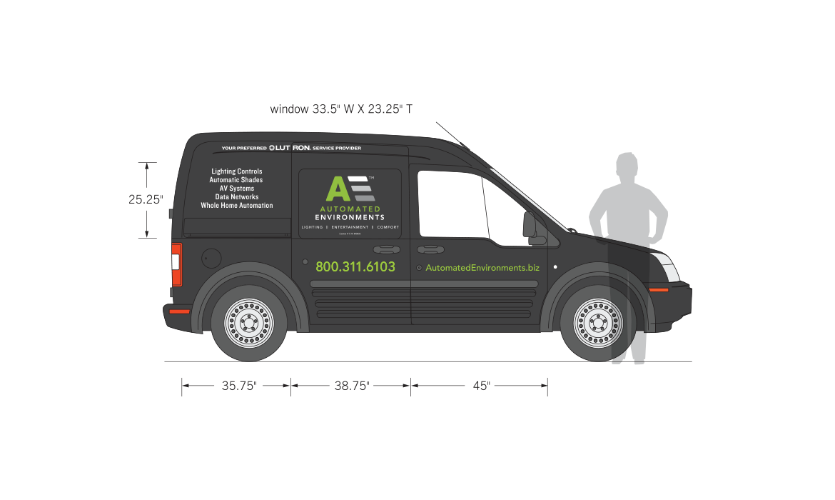 Automated environments truck graphics